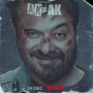 What a great Movie it was, #AKvsAK @NetflixIndia Loved it man, What a great story by Karmaditya Motwane. And the acting by the legends @AnilKapoor , @anuragkashyap72 , @HarshKapoor_ and Yogita Bihani was the as fantastic as the story. Thanks @badal_bnftv for this recommendation.