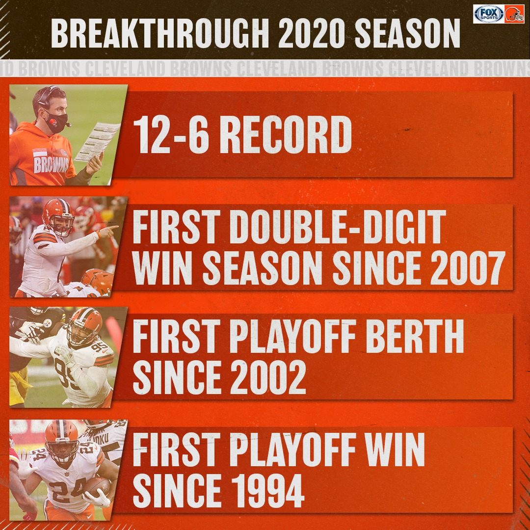 Congratulations to the @Browns on a season they can be proud of. #WeWantMore #Browns #ClevelandBrowns