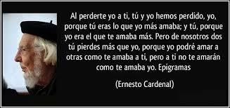 #UnDiaComoHoy nace Ernesto Cardenal. Por su obra poética  recibió varios premios internacionales. Fue defensor de la Teología de la Liberación en América Latina y Ministro de Cultura del gobierno surgido de la Revolución nicaragüense #QuedateEnCasa