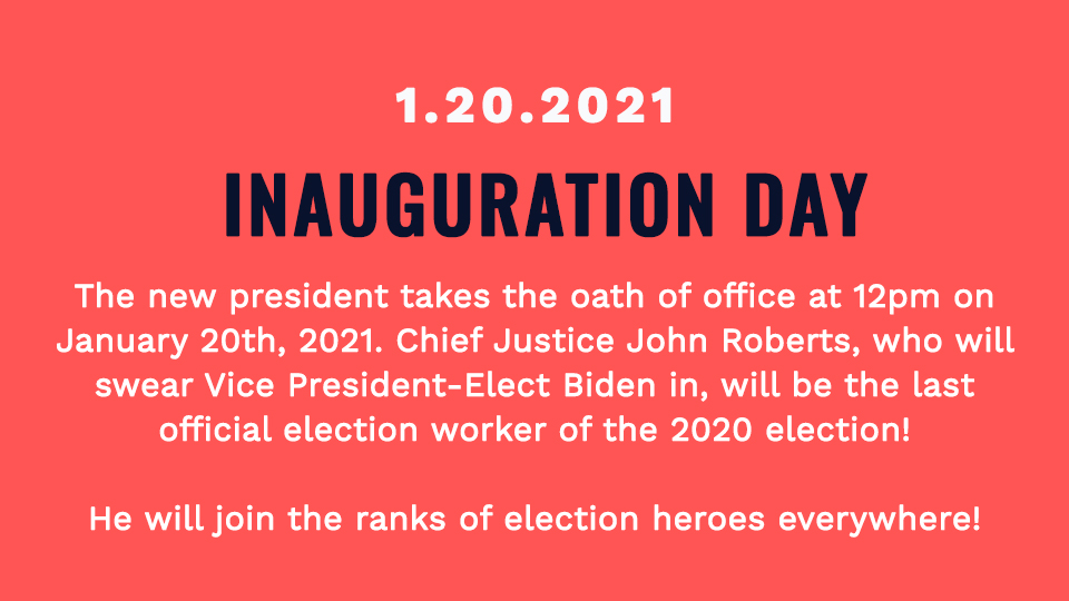 #InaugurationDay   (8/8)