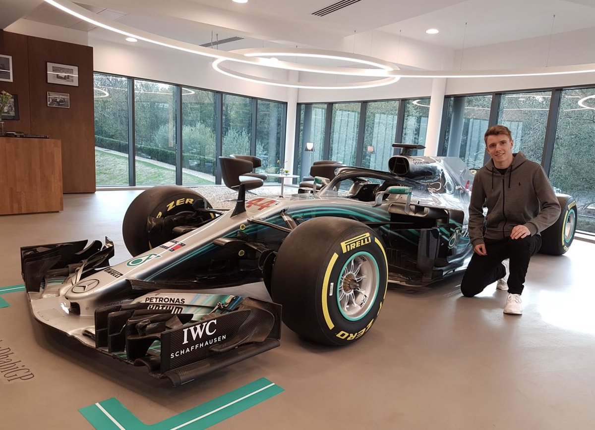 My first ever visit at @MercedesAMGF1 back in 2019 - Special day in the simulator!🤩  #Formula3 #ARTGrandPrix #MercedesJuniorDriver #MercedesF1 #Simulator #Formula1 #Racing #F1 https://t.co/O5ylBWS1VP