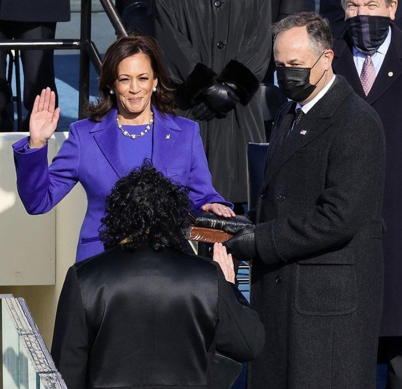 Today we witnessed history! 😭😭VICE PRESIDENT KAMALA HARRIS! #BidenHarris2020 #ByeDon #ByeByeTrump #KamalaHarris