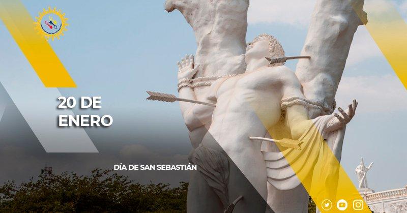 #UnDíaComoHoy #20Enero | Se celebra el día de San Sebastián, patrono de la ciudad, considerada una de las devociones más antiguas de la capital zuliana.
