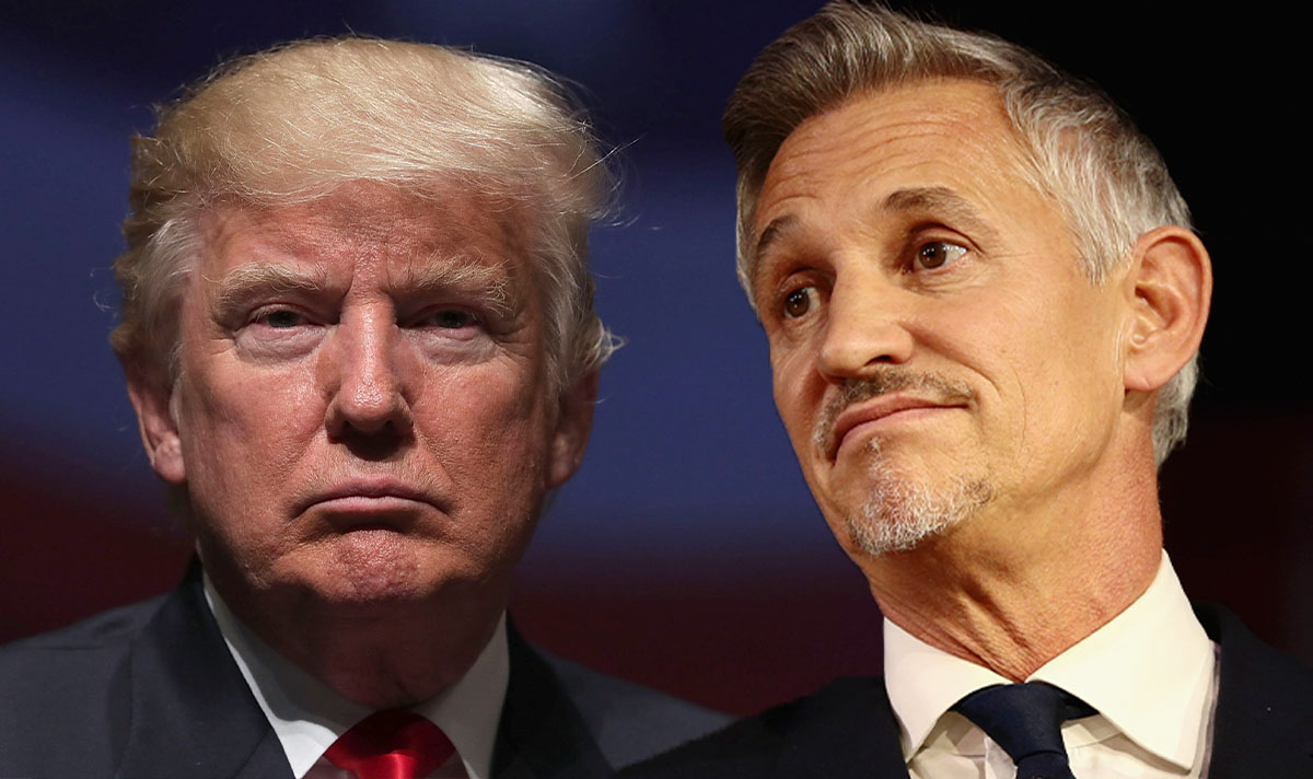 Gary Lineker trolls Donald Trump on Inauguration day 'Happy orange Wednesday'  #InaugurationDay