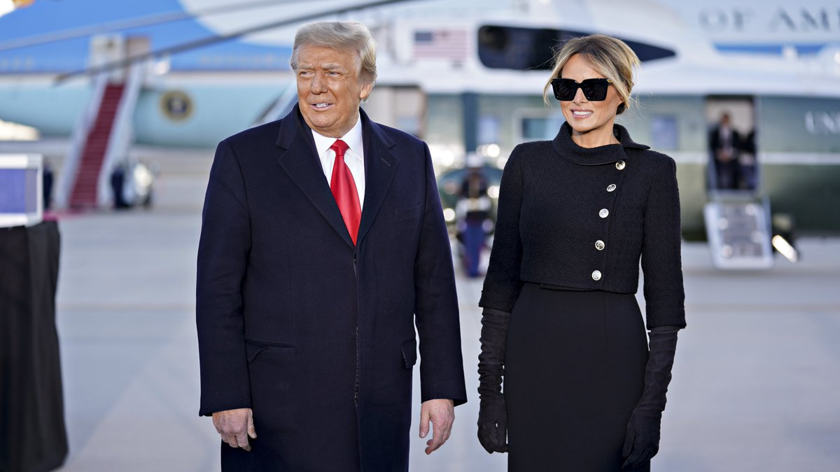 Thank you Mr. President and First Lady Melania for these last four years and all that you have done for our nation. May God be with you and your family as you open a new chapter in your lives.