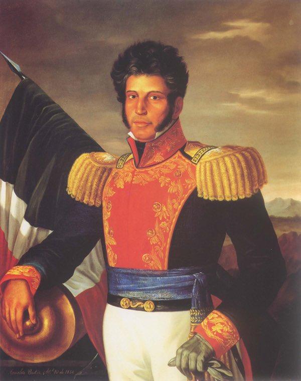 #undíacomohoy pero de 1821, Vicente Guerrero rechaza el indulto ofrecido por Agustín de Iturbide.