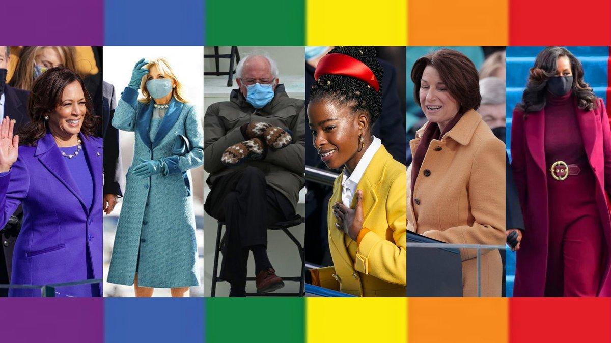 the inauguration said gay rights!!
