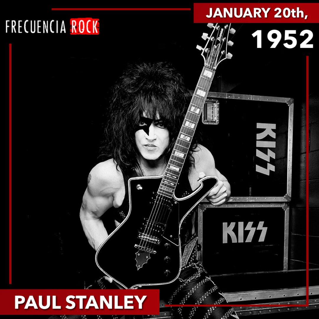 Happy Birthday Paul Stanley! • • • • • #frecuenciarock #felizcumpleaños #happybirthday #undiacomohoy #rockstar #musichistory #efemerides #rocknroll #music #icon #legend #onthisday #artist #musicfacts #bornonthisday #birthday #paulstanley #kiss #starchild #kissarmy #kisstory