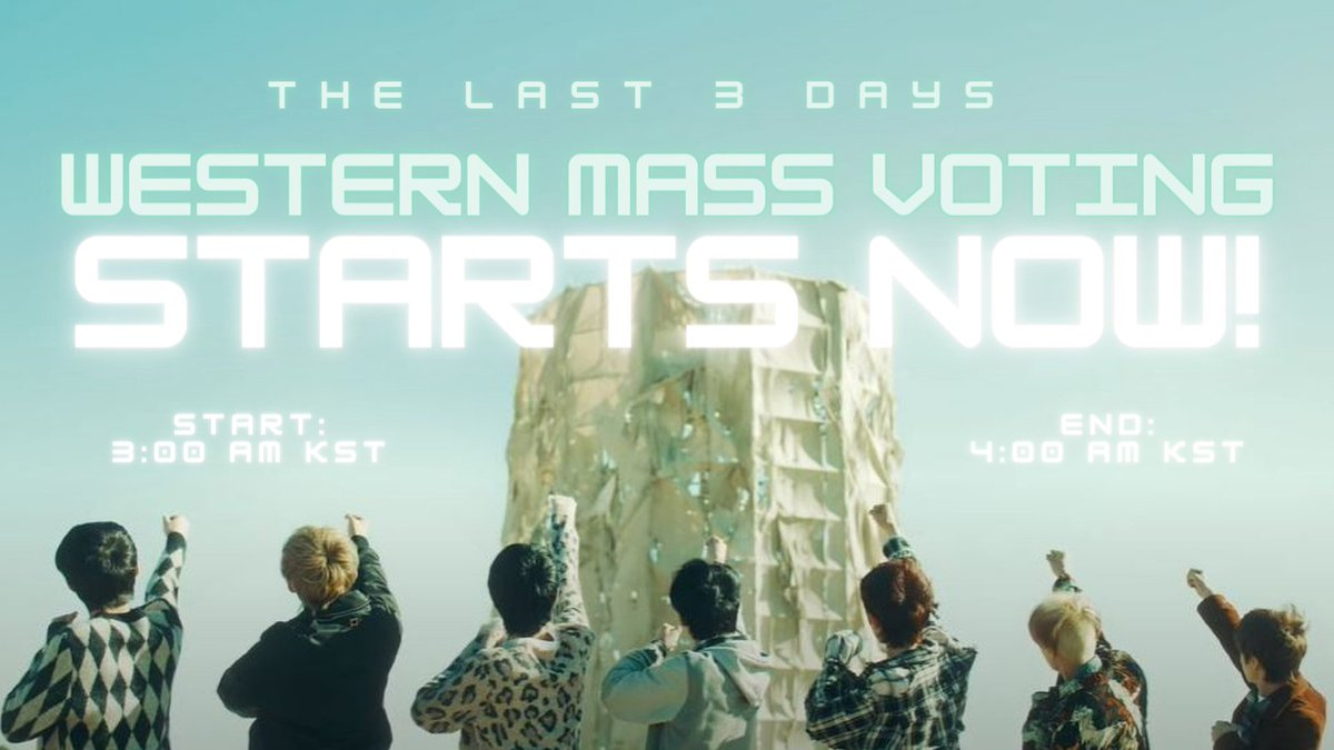 [MASS VOTING] 210121  📢 WESTERN MASS VOTING STARTS NOW!  WESTERN ENGENEs, please take this seriously and decrease the gap! We only have 3 days left!   🕑 3:00 - 4:00 AM KST  NOTE: Use SEPARATE accounts from the main mass votings!   #ENHYPEN @ENHYPEN @ENHYPEN_members