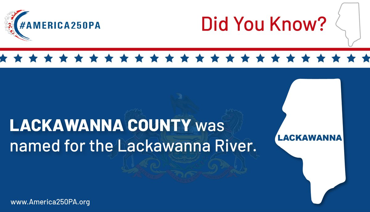 #DidYouKnow this fact about #LackawannaCounty?  #PAProud #EPIC #Educate #Celebrate #EveryCounty #EveryPennsylvanian