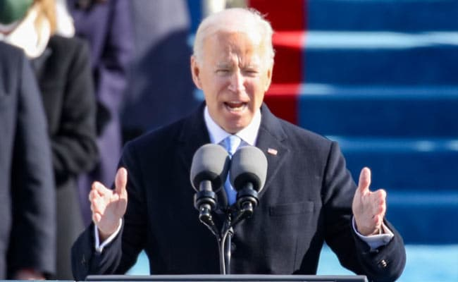 """Replying to @ndtvfeed: Joe Biden, New US President, Vows To End """"Uncivil War"""""""