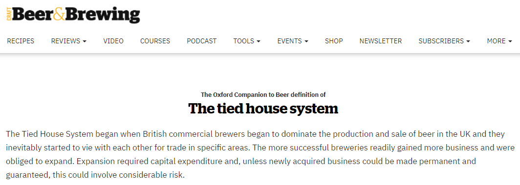 """""""The Tied House System began when British commercial brewers began to dominate the production and sale of beer in the UK...""""     #rebeccahardin #thrive #easy #itseasierthenyouthink #liquor #liquorconsultant"""
