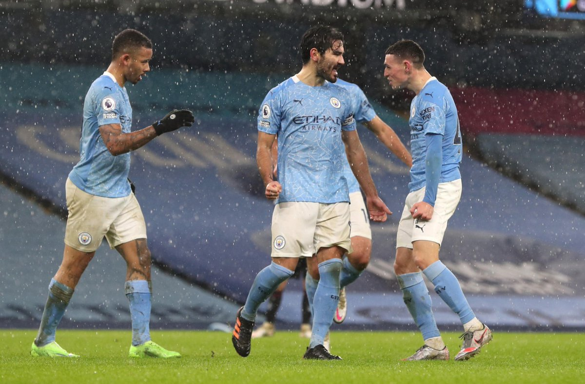 Replying to @IlkayGuendogan: 6 wins in a row 🎱💪🏼 Good fight from everyone again - #ComeOnCity 💙🙌🏼