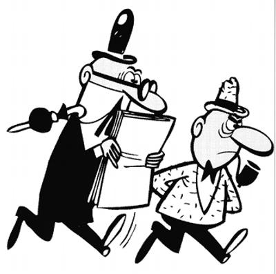 #EfemeridesOcio #Undíacomohoy pero de 1958, se publica la primera aventura de Mortadelo y Filemón en Pulgarcito.