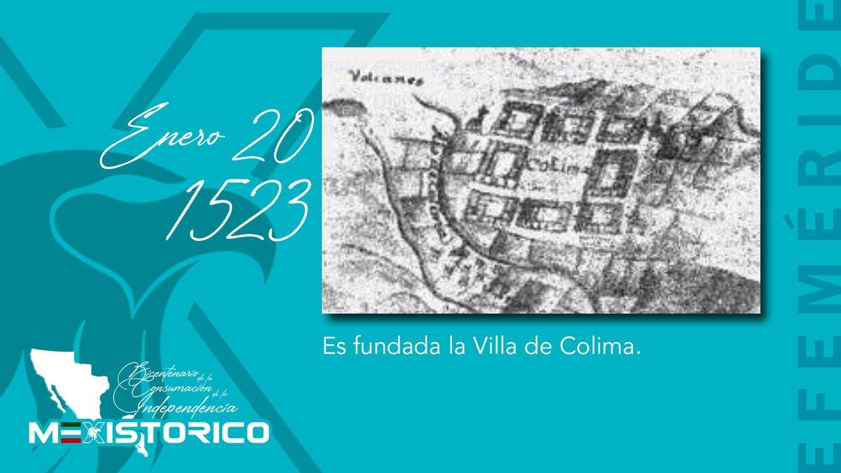 #UnDíaComoHoy en 1523 es fundada la Villa de Colima.