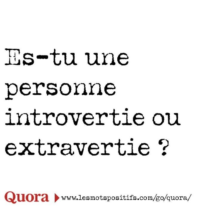 Alors ? 😉  #lesmotspositifs #questiondujour #developpementpersonnel #coaching #introvertie #extravertie