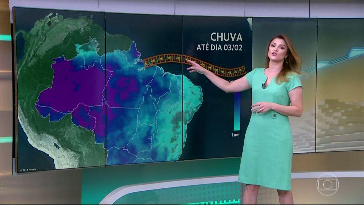 A ZCIT Finalmente se aproximou do Brasil, agora as chuvas no nordeste vão aumentar #JH