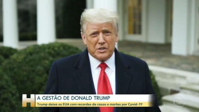 Donald Trump teve um mandato marcado pela desinformação, pelo abandono de antigos acordos com aliados e que terminou com dois processos de impeachment:  #JH