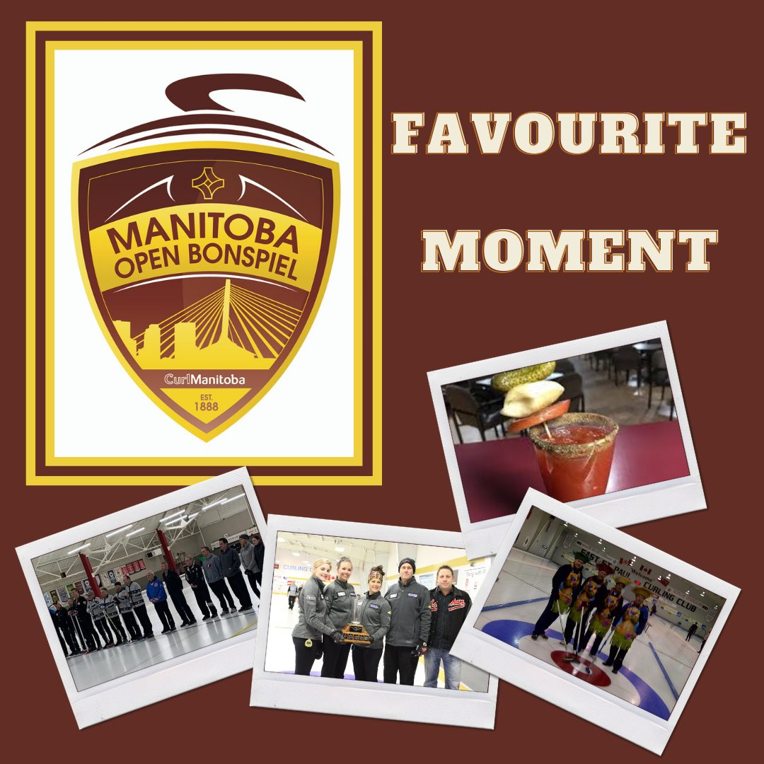 Anyone else missing the Manitoba Open as much as we are? 👀🙋‍♂️ Let us know some of your favourite moments and memories from the past 132 years of the Manitoba Open! 🥌 #ManitobaOpen #WorldsLargestBonspiel