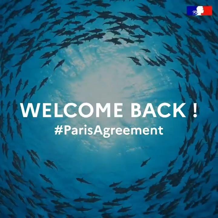 #ParisAgreement #InaugurationDay #Inauguration2021