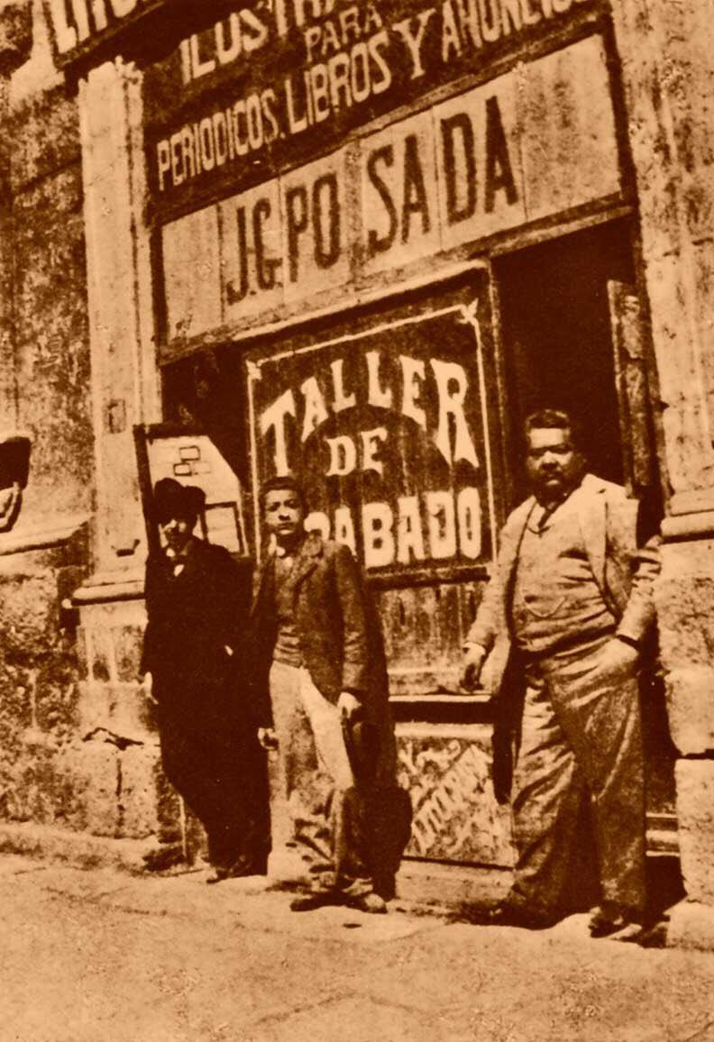#UnDíaComoHoy de 1913 murió #JoséGuadalupePosada destacado grabador, ilustrador y caricaturista. Es reconocido por sus litografías con escenas de muerte, estampas populares y caricaturas sociales, inspiradas en la sociedad mexicana...