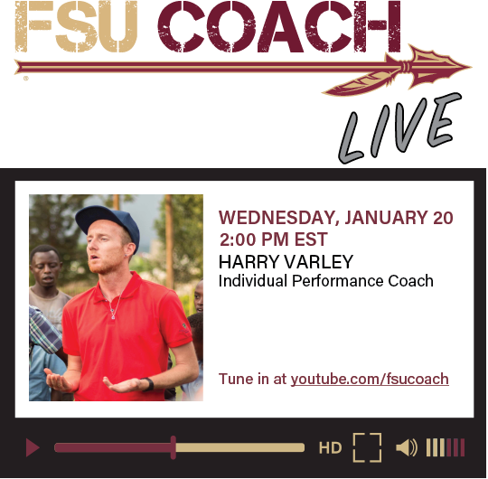Join us live as Coach Harry Varley discusses his experiences coaching football (soccer) across the various levels including internationally. Harry shares what he's learned along the way and offers advice for those interested in the coaching profession. #coach #coaching #coaches