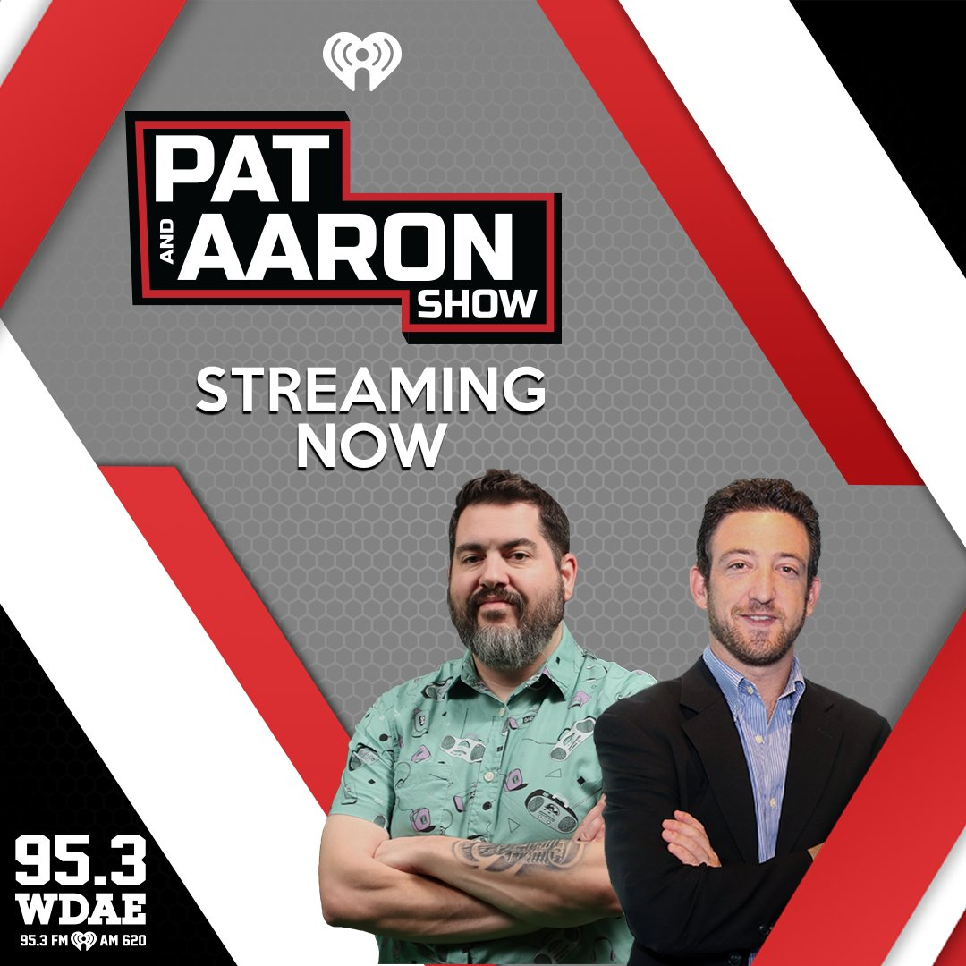 NEXT     @GregLinnelli  LIVE On @PatandAaronShow On @953WDAE Talking '19-'20 #StanleyCup Champs @TBLightning  #GoBolts // #GoonSquad 📻 95.3FM   620AM   95.7 HD3 💻 / 📱  On @iHeartRadio