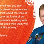 Image for the Tweet beginning: Tim Peake, European Space Agency