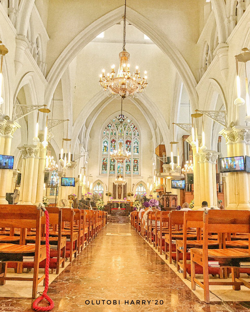 Image of the famous Cathedral Church of Christ Marina, Lagos.   Send a Direct message to purchase this image.  #prints #printsforsale #printmakersofinstagram #anglican #religion #art #artistsoninstagram #church #lagos #lagosnigeria