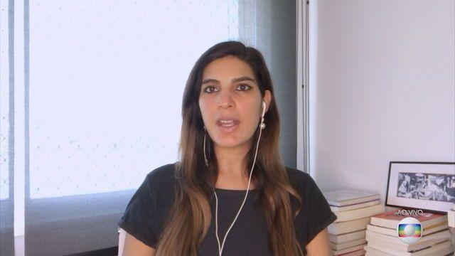 Marco Aurélio diz 'não ver com bons olhos' o discurso do procurador-geral atribuindo julgamento de possíveis ilícitos cometidos por autoridades do Executivo na pandemia ao Legislativo. @AndreiaSadi comenta:  #JH