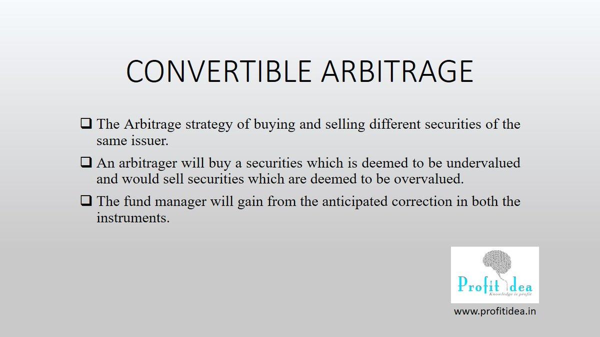 #dykfacts #didyouknow #profitidea #Arbitrage #HedgeFund