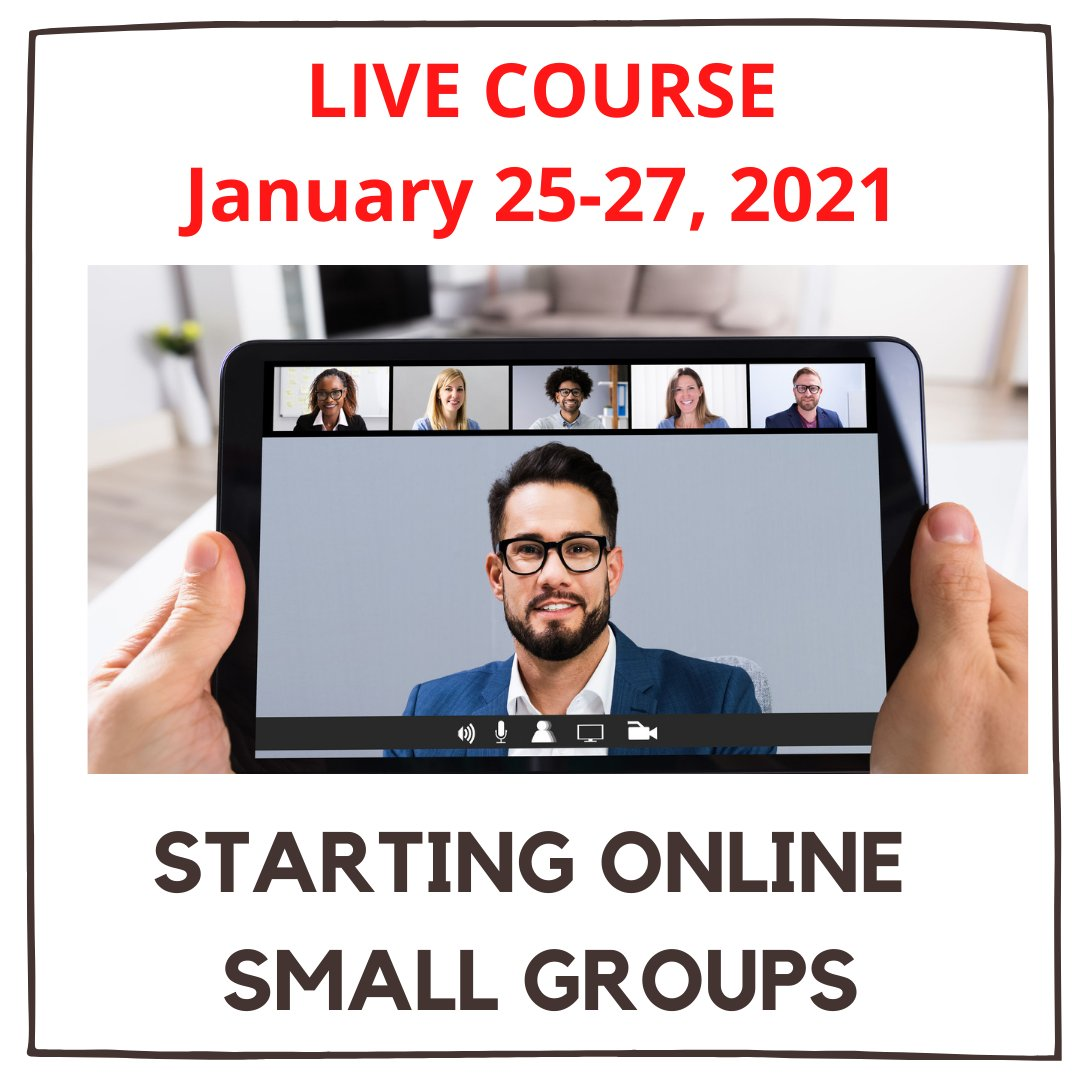 Are your people tired of Zoom but not quite ready to meet in-person? The Online Groups Crash Course will give you proven strategies to connect your people even when they can't meet:   #smallgroup #onlinegroups #disciple #discipleship #church #churchonline