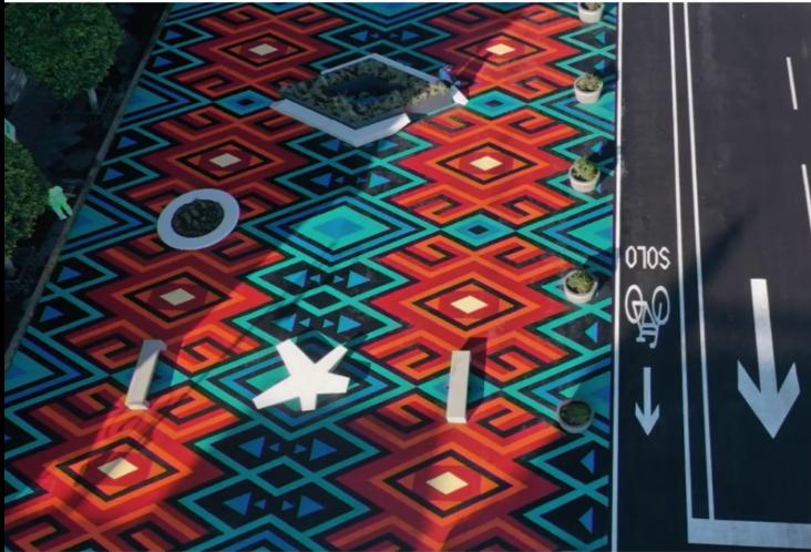 """""""Zócalo peatonal"""": Belleza e intervención de urbanismo táctico. 👇🏼  https://t.co/oYcBKcSqI8 https://t.co/dofg2GxrsD"""