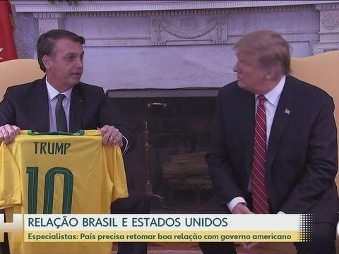 Depois da devoção de Bolsonaro a Trump, da derrota do ex-presidente americano nas urnas, da saia justa entre Bolsonaro e Biden. O futuro das relações entre os dois países pode ser conturbado. Veja o que dizem os especialistas:  #JH