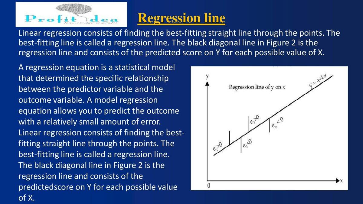 #DidYouKnow  #finance  #Statistics  #industryanalysis #regression  @varun23oct  @Dishantsingla2