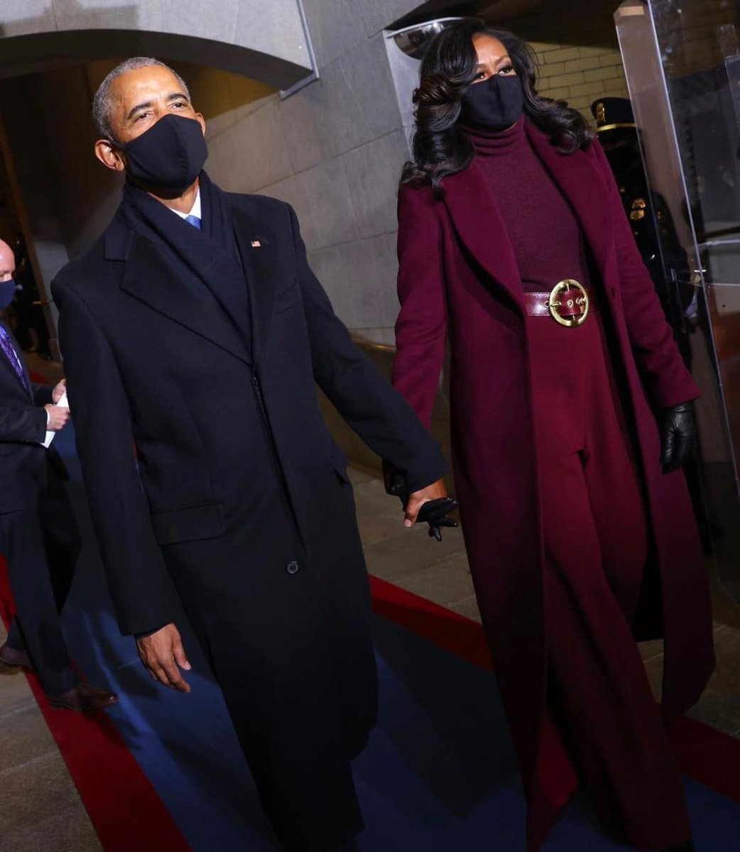 The Obamas attend Biden-Harris inauguration  (Photos: AFP)