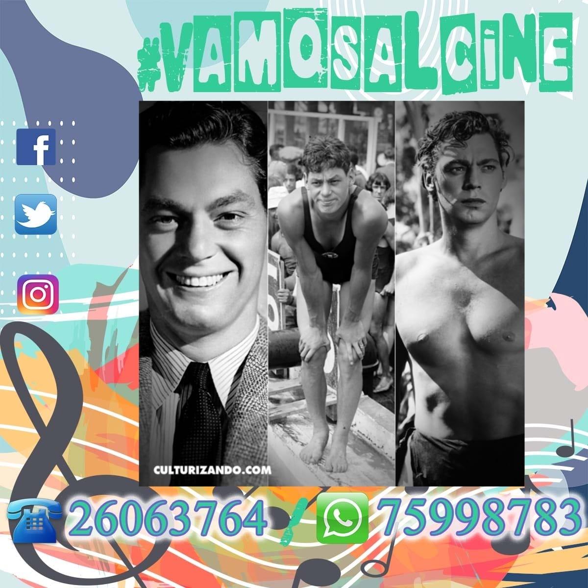 #VamosAlCine 🎬   #UnDíaComoHoy 📅  En 1984 muere en México el deportista y actor estadounidense de origen austríaco, Johnny Weissmüller, recordado por interpretar el papel de Tarzán entre 1930 y 1944.