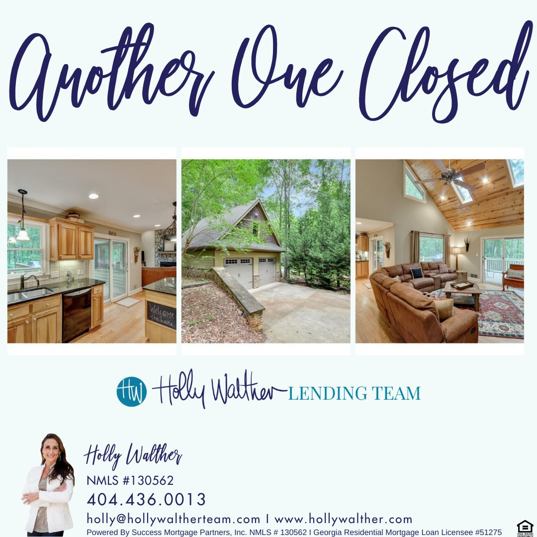 Another one Closed! Congratulations John and Susan!  #lender #realtor #realestate #buyingandselling #refinance #saving #savings #home #homesweethome #house #bossbabe #bosslady #bosslife #TheHollyWaltherLendingTeam #HollyWaltherLendingTeam