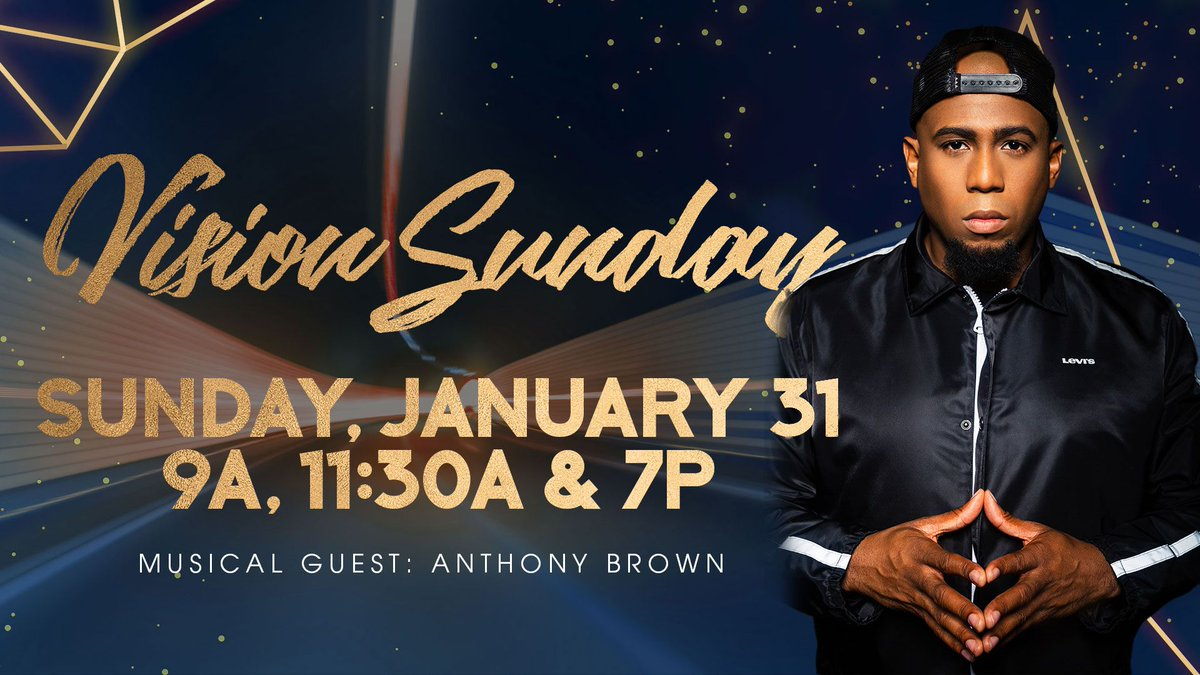 Vision Sunday is coming up on Jan. 31st. Don't miss this special service. #strongtowerlive #vision #sunday #newyear #newvision