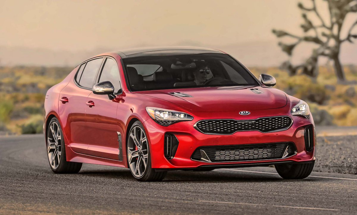Stand out in the perfect balance of power and refinement. The #Kia #Stinger delivers high performance and supreme comfort on the open road.