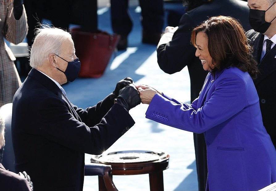 A historic day in America. Today brings so much hope for the future, an example of diversity in leadership that I hope to see mirrored across industries and governments. Congratulations @JoeBiden and @KamalaHarris, best of luck. https://t.co/FX6t4PfpCu