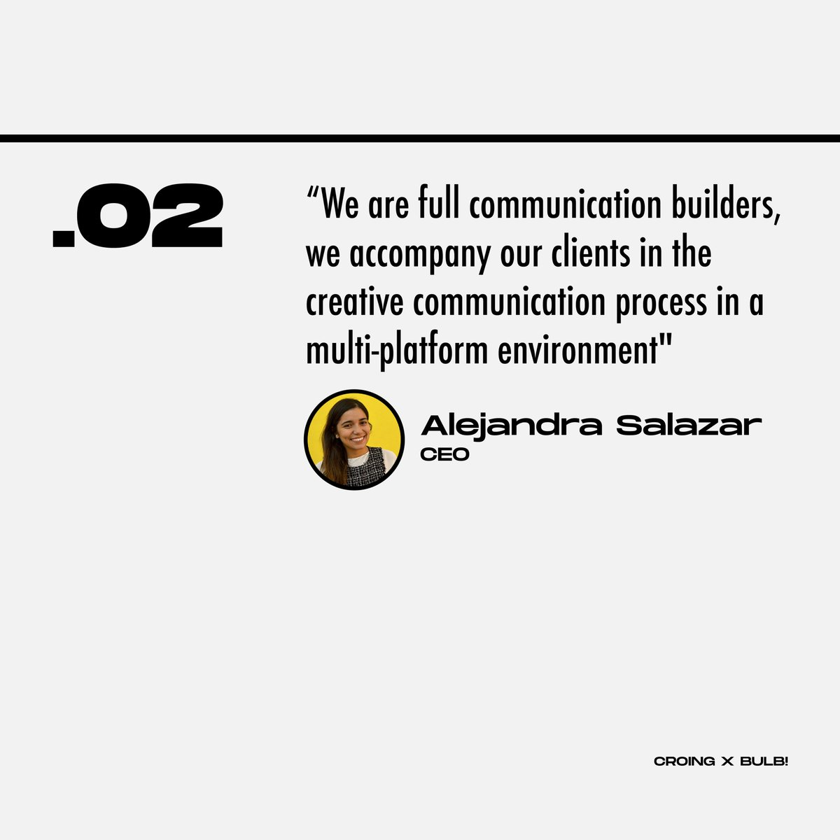 Last week @BulbCL a #marketing magazine in Chile featured @croing_agency  These are the most relevant quotes👇
