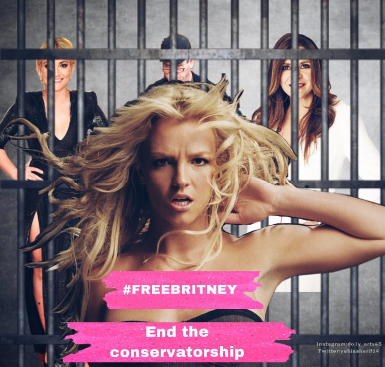 Made a #FreeBritney poster #BritneySpears #free #freedom end the conservatorship #barmy #LadyGaga #ArianaGrande #blackpink #TimesUp #christinaaguilera #BILLIEELISH #freexbritney #beyonce #DojaCat