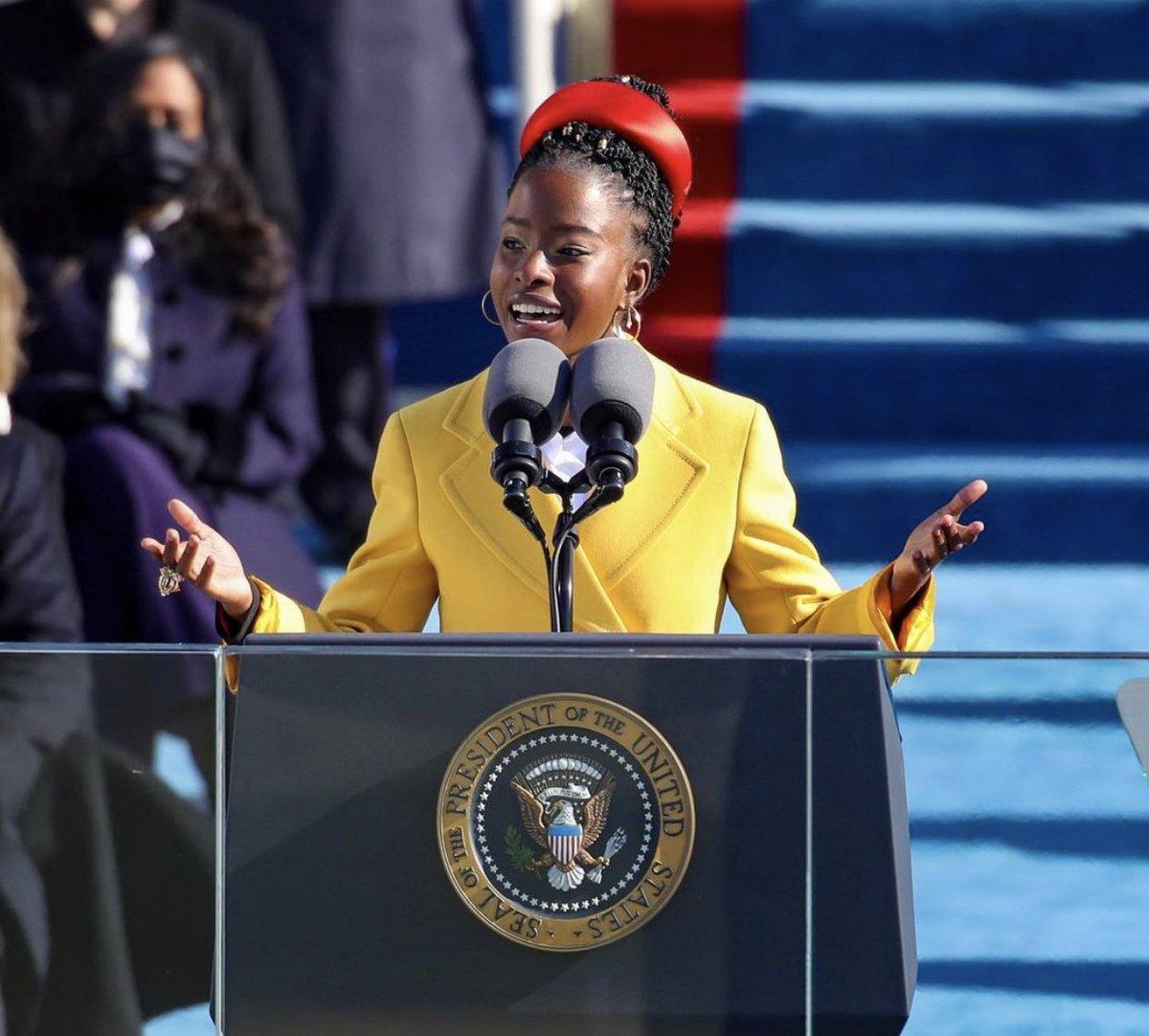 Ladies we can do anything!  • • #inauguration2021 #amandagorman #inspiration #motivation #blackgirlmagic #intentional