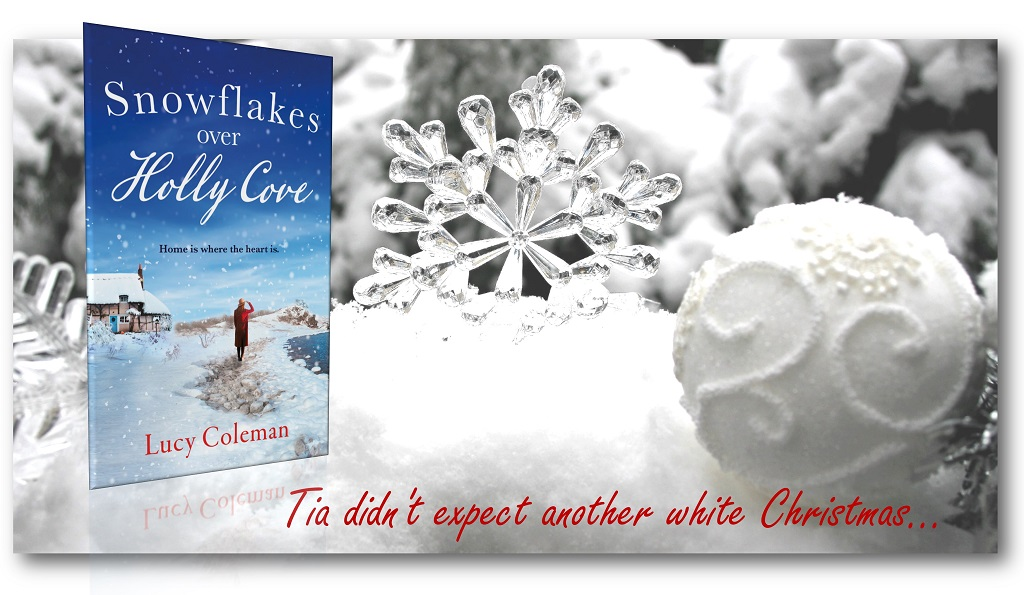 The wonder of snowflakes falling on a beach. Tia is alone and lonely, but the warmth of a whole community warms her heart at #Christmas. #GowerCoast #AriaFiction  🎿 Buy:  Read Chapt. 1: