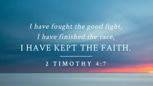 """2 Timothy 4:7 """"I have fought the good fight... finished the course... kept the faith""""  Question: Are you keeping #faith? Let me be clear: Faith in JESUS? Faith in His finished work @ the Cross? Faith in His Blood? Faith in His Word?  #JustAsking #AskingForAFriend My friend #Jesus"""