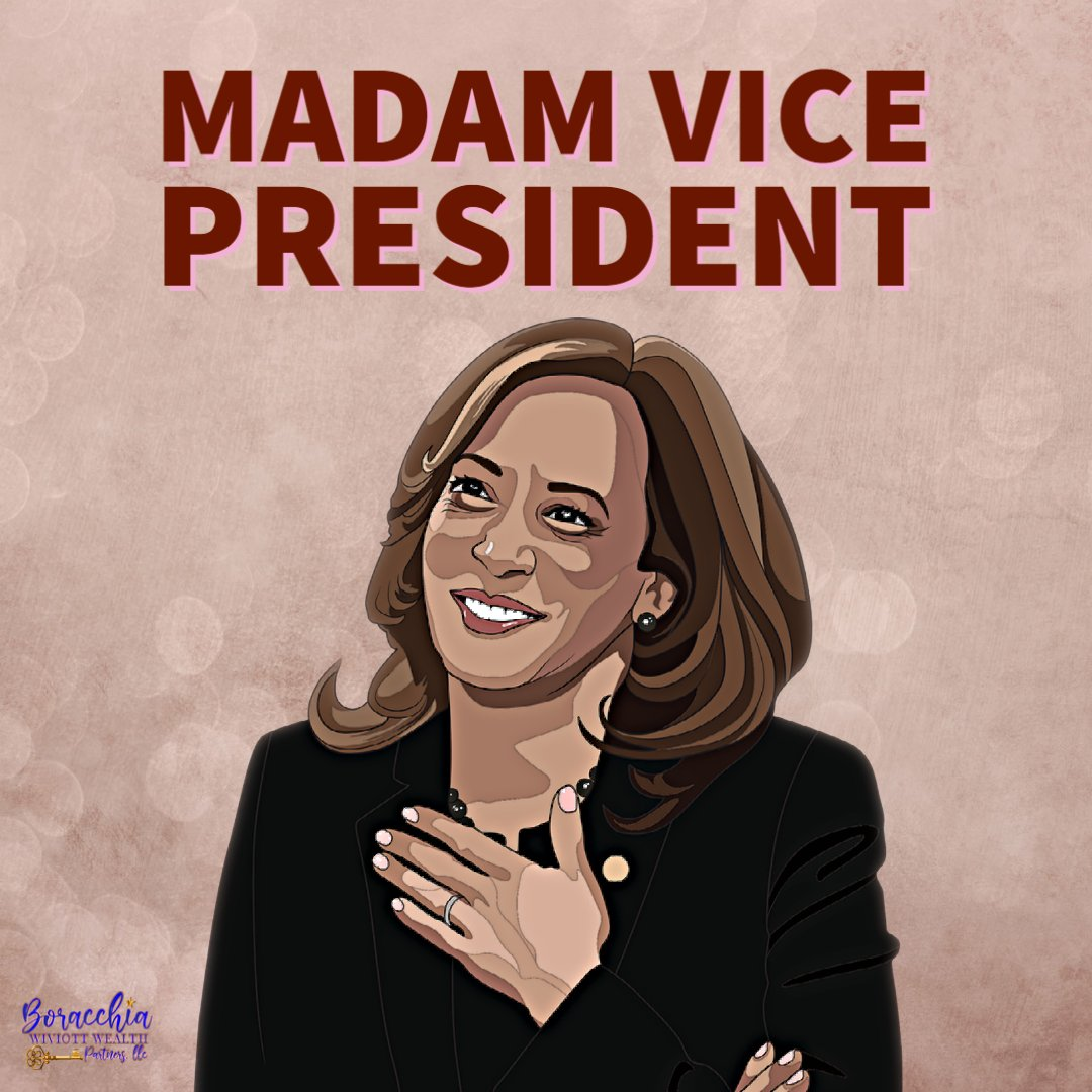Kamala Harris becomes the first female vice president of the U.S! 🇺🇸✨  We are beyond excited and grateful to witness how history is made😍  #kamalaharris #southasianwomen #blackwoman #inaugurationday #inaugurationday #womenempowerment #blacklivesmatter