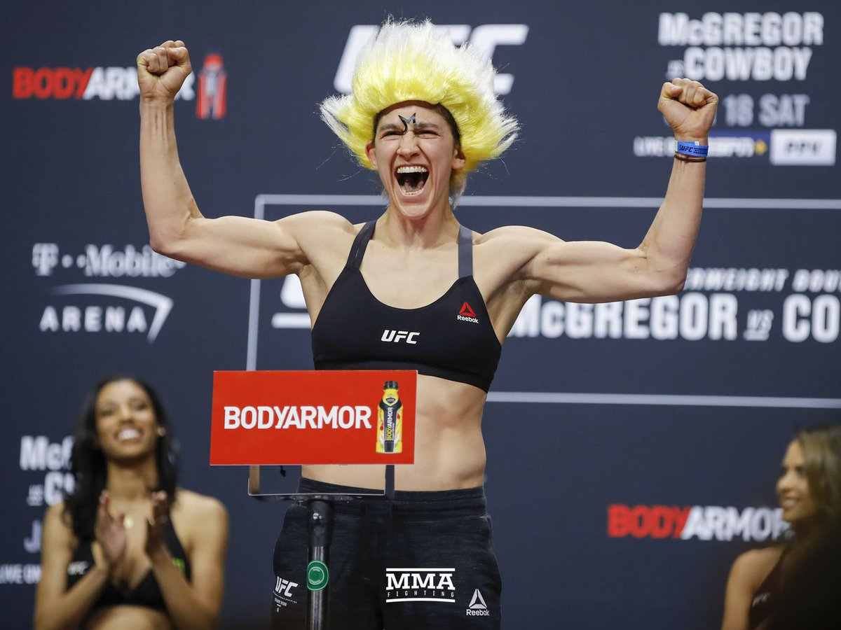 Time to pay homage to the best TUF contestant who ever lived #UFCFightIsland8