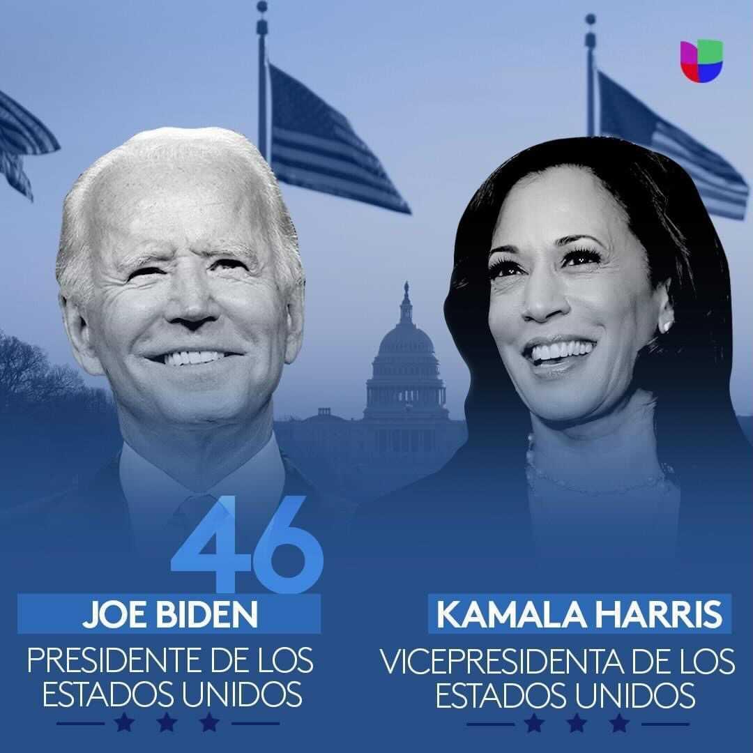 🇺🇸 #JoeBiden ya es el presidente número 46 de #EstadosUnidos y #KamalaHarris, la primera mujer en ser vicepresidenta 🎧 Sigue los detalles del #InaugurationDay en tu Uforia App 👉