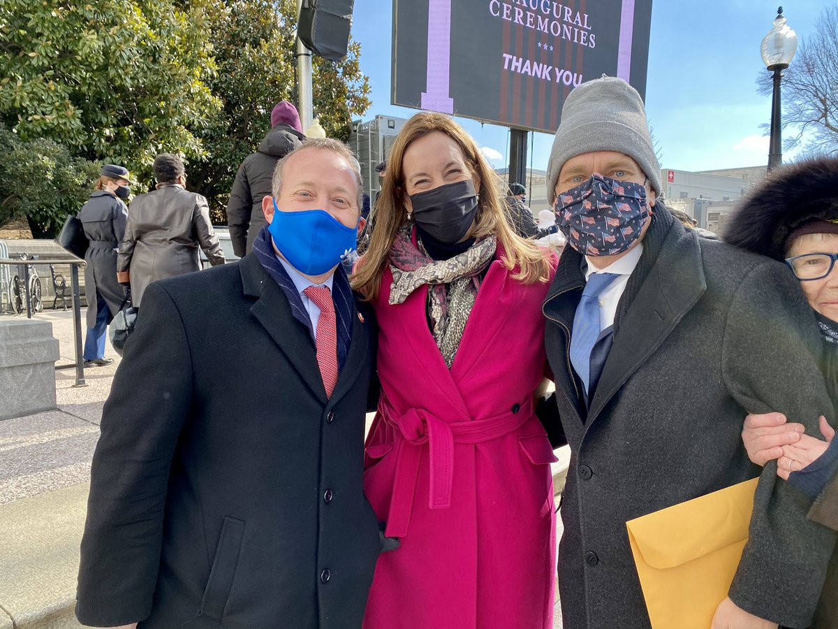 New Jersey represent! #Inauguration